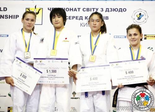 Диана Джигарос - призёр чемпионата мира по дзюдо