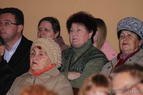 Фоторепортаж с отчёта Афанасьевой перед волжанами