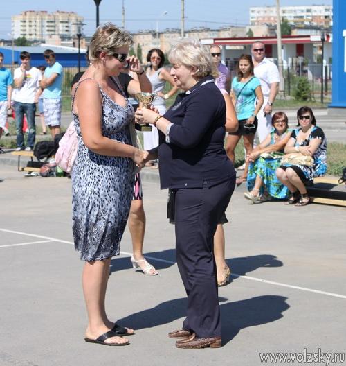 В ФОКе «Русь» наградили участинков Спартакиады и провели турнир по стритболу