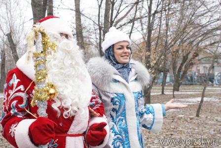 В парке открылась Усадьба деда Мороза