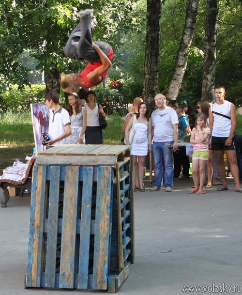 В парке прошёл фестиваль субкультур