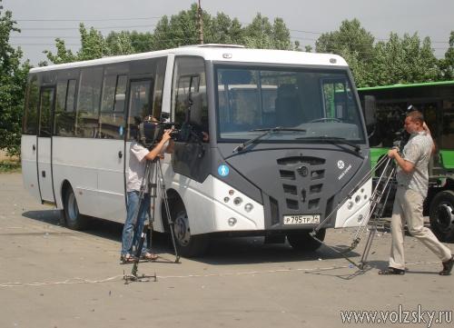 В  Волжском будут производить 3000 автобусов малого класса в год