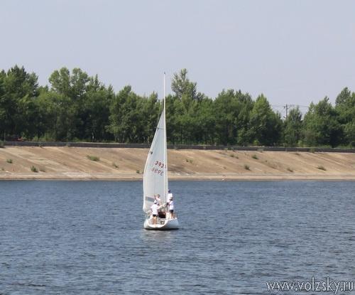 В Волжском проходят соревнования среди крейсерских яхт