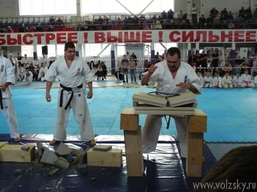 В Волжском прошёл фестиваль единоборств