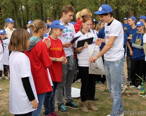 Волжская ГЭС провела благотворительную экологическую акцию «оБЕРЕГАй!»