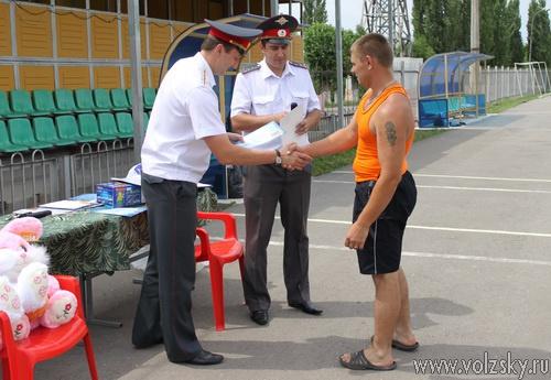 Волжские милиционеры победили спартакиаде