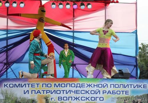 Волжский завершил празднование Дня молодёжи концертом