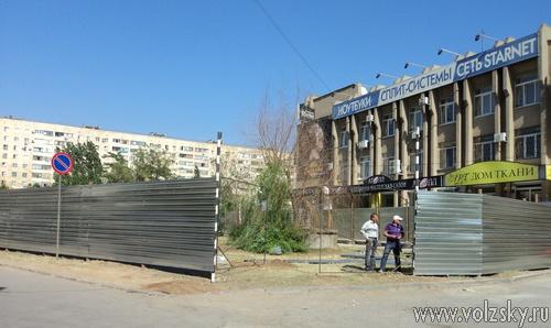 Бетонные коробки захватывают город Волжский