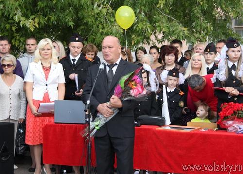 Кадетская школа им.Солнечникова встретила 1 сентября в новом статусе