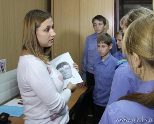 Полицейский класс посетил УМВД с экскурсией