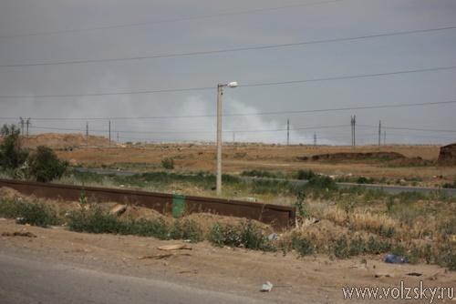 Пожар на городской свалке локализован