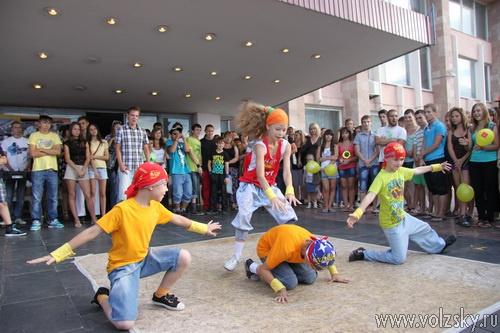 Празднование Дня молодёжи завершилось грандиозным концертом