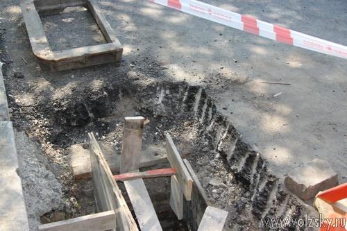 Проспект Ленина ремонтирую... чуть-чуть