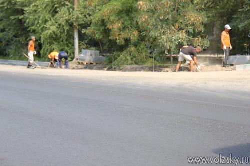 Проспект Ленина ремонтируют... чуть-чуть