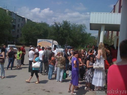 Работники «Волжского бисквита» требуют справедливости