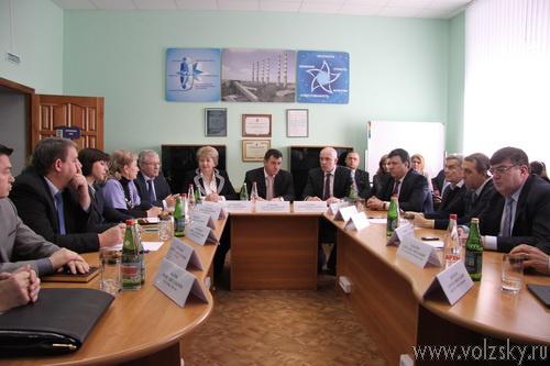 Сергей Боженов посетил Волжский