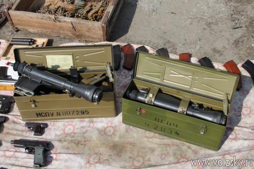 Сотрудники Управления ФСБ нашли арсенал оружия