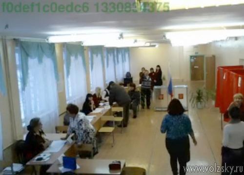 В Волжском открылись избирательные участки
