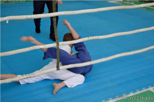 В Волжском прошёл предновогодний турнир по дзюдо