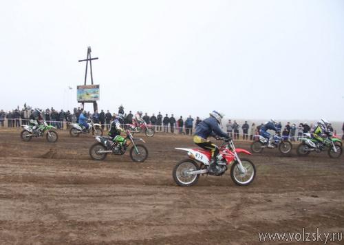 В Волжском прошёл традиционный мотокросс