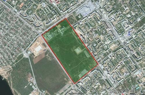 Волжан приглашают обсудить планировку нового парка