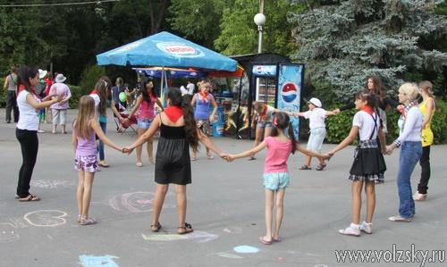 Волжане продолжают праздновать День молодёжи