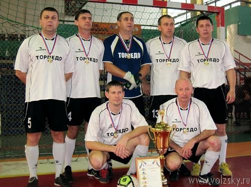 Волжане выиграли международный турнир по мини-футболу среди ветеранов