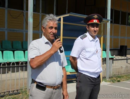Волжане заняли второе место на спартакиаде сотрудников органов внутренних дел