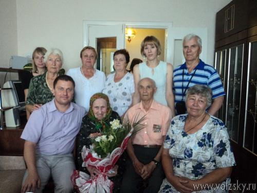 Волжанка отметила 100-летие