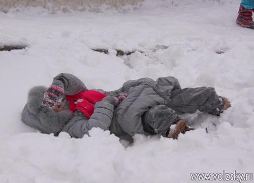 Волжскане проводили зиму