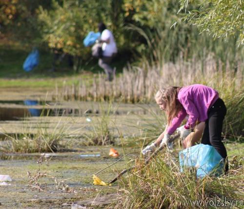 Волжская ГЭС в шестой раз провела благотворительную экологическую акцию «оБЕРЕГАй!»