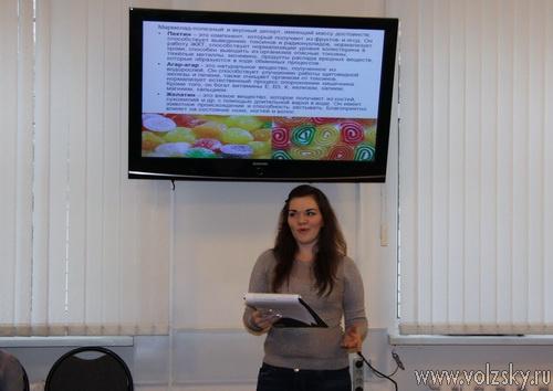 Волжские студенты защитили научные проекты в мэрии