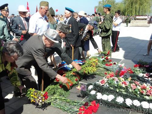 Волжский отметил 67-ую годовщину Дня Победы