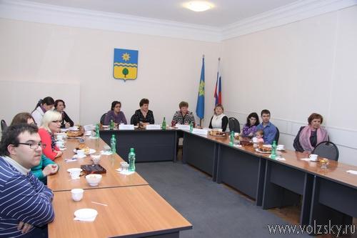 Волжский посетила член совета при президенте РФ