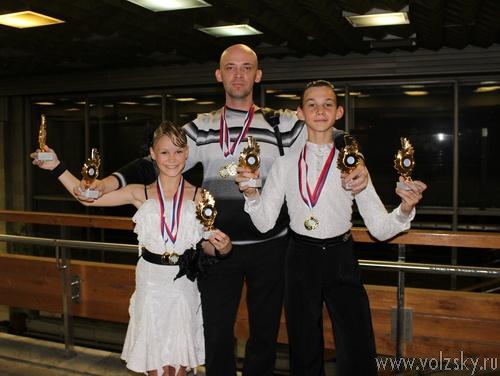 Юные волжане стали лучшими на Международном турнире стран СНГ по спортивным танцам