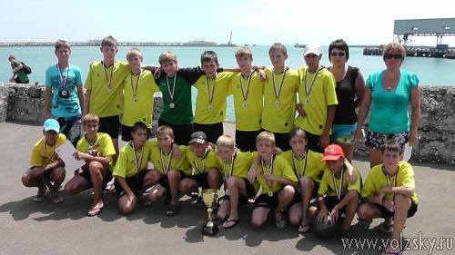 Юные Волжские футболисты вернулись с соревнований из Туапсе