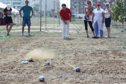 День физкультурника в Волжском проходит на нескольких площадках