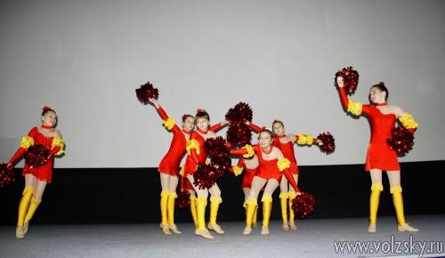 Фестиваль юных чирлидеров состоялся в Волжском