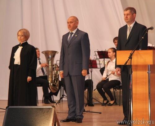 Инаугурация Игоря Воронина