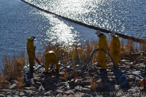 На Волжской ГЭС прошли учения