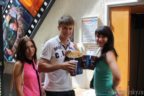Первокурсники Волжского Политеха получили первый подарок!