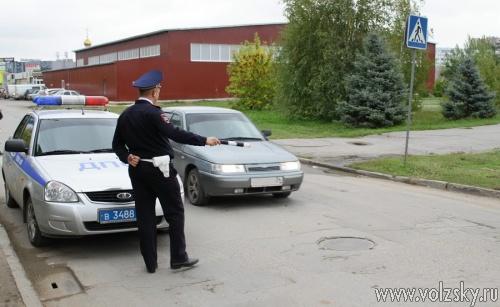 Рейд волжских ДПС И ГИБДД