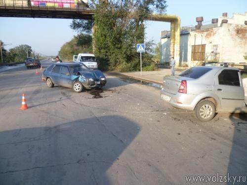 Сегодня в Волжском случилось 2 крупных ДТП