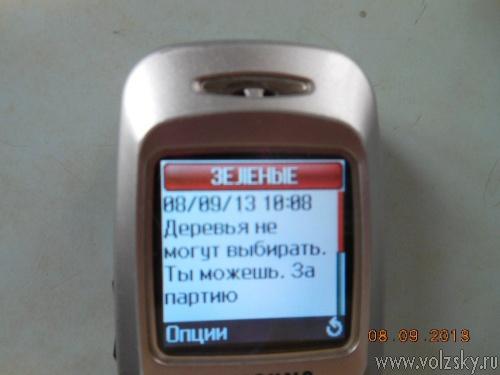 ТИК разбирается с агитационными СМС-ками
