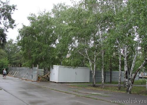 Точечная застройка по-волжски: минимум деревьев, максимум площадей