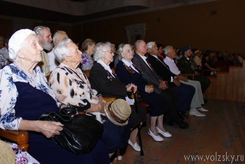 Торжественное собрание ветеранов