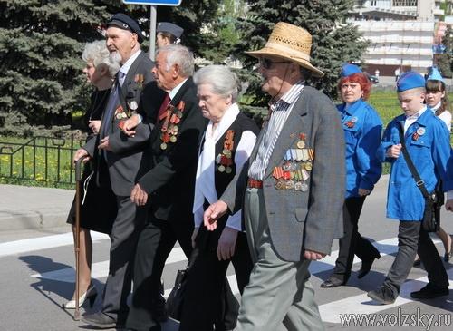 В Волжский съехались «карбышевцы» со всей России