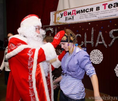 В Волжском драматическом идут новогодние спектакли