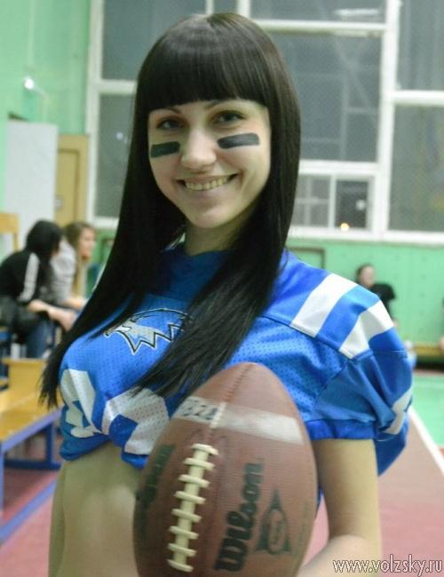 В Волжском формируется женская команда по американскому футболу