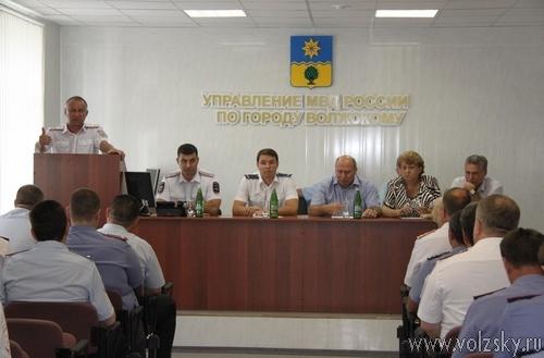 В Волжском новый начальник УМВД